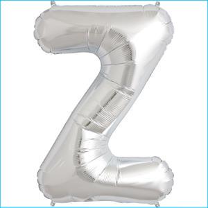 Foil Balloon 35cm Silver Z
