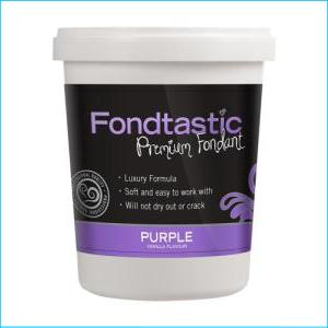 Fondtastic Fondant Purple 908g