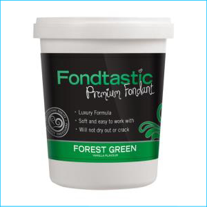 Fondtastic Fondant Forrest Green 908g