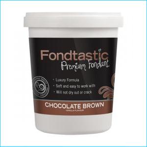 Fondtastic Fondant Chocolate Brown 908g