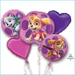 Balloon Bouquet Paw Patro Girls