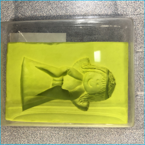 Silicone Mould Angel 3D