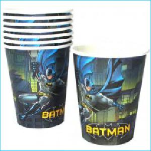 Batman (OLD) Paper Cups Pk 8