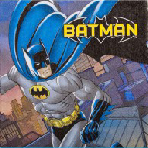 Batman Luncheon Napkins (OLD) Pk16