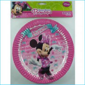 Minnie Paper Plates Pk8