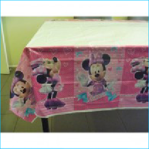 Minnie Mouse Tablecover Pk1