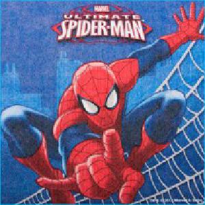Spiderman Napkins Pk16