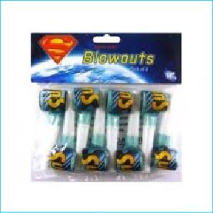 Superman Blowouts Pk8