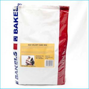 Bakels Red Velvet Cake Mix 4kg