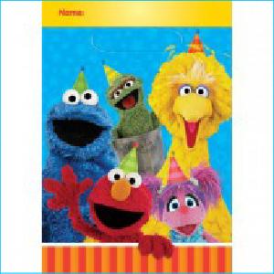 Sesame Street Loot Bags Pk 8