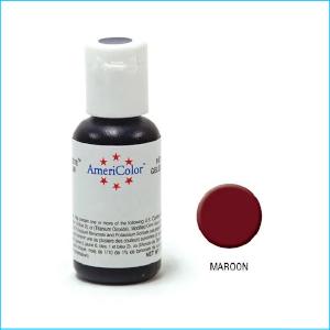 Americolor Gel Paste Maroon 21g