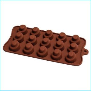 Silicone Chocolate Mould Swirl