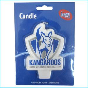 AFL Candle North Melbourne Kangaroos