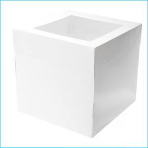 "Mondo Cake Box 10""x10""x10"""