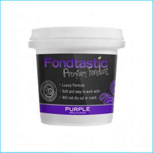 Fondtastic Fondant Purple 226g