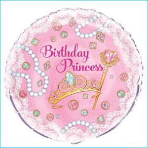 Birthday Princess Foil Balloon 45cm