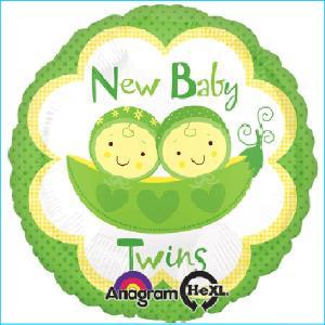 New Baby Twins Peas 45cm