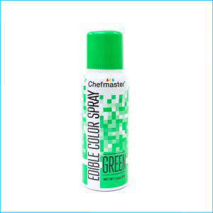Chefmaster Edible Spray Green 42g
