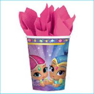 Shimmer and Shine Party Cups Pk8