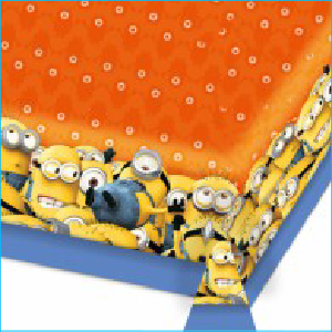 Minions Party Tablecover Pk 1