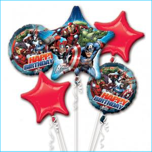 Balloon Bouquet Kit Avengers