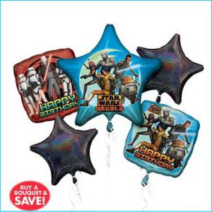 Balloon Bouquet Star Wars Rebels