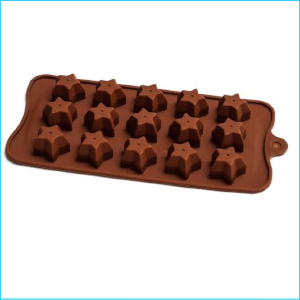 Silicone Chocolate Mould Stars