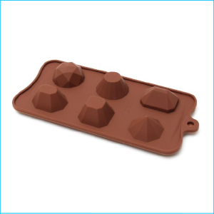 Silicone Chocolate Mould Gems Large