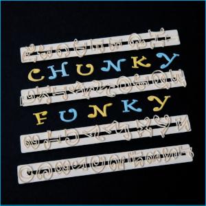 FMM Upper Case Funky Alphabet Number