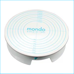 Mondo Cake Rotating Turntable w Brake