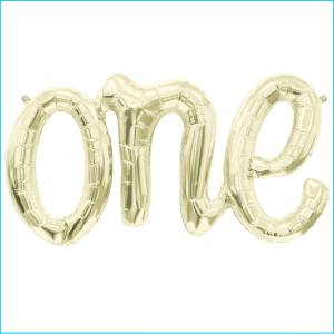 Airfill Phrase One White Gold 76cm