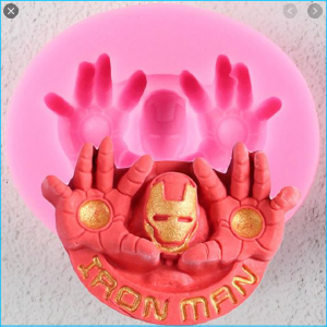 Silicone Mould Iron Man