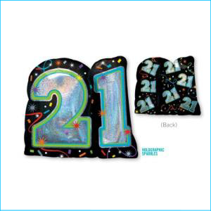 21 Birthday Supershape