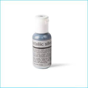 Chefmaster Airbrush Metallic Silver 19g