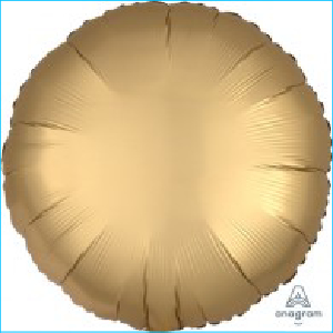Satin Luxe Gold Circle 45cm