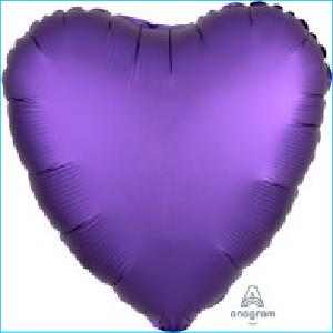 Satin Luxe Purple Heart 45cm