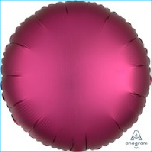 Satin Luxe Hot Pink Circle 45cm