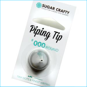 SC Piping Tip 000 Round / Finest