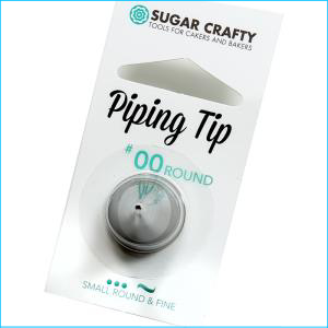 SC Piping Tip 00 Round / Fine