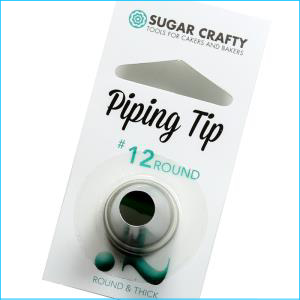 SC Piping Tip 12 Round / Thick