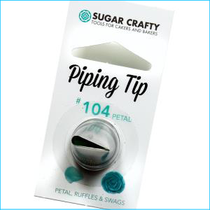SC Piping Tip 104 Petal