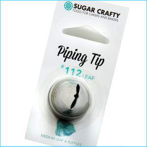 SC Piping Tip 112 Leaf / Ruffle