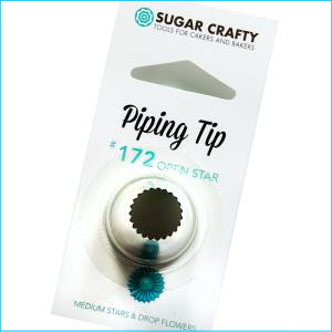 SC Piping Tip 172 Open Star