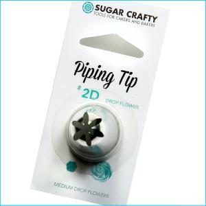 SC Piping Tip 2D Drop Flower