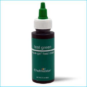 Chefmaster Liqua Gel Teal Green 65g