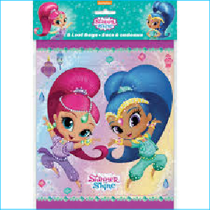 Shimmer and Shine Loot Bags Pk 8