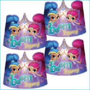 Shimmer and Shine Glitter Tiara's Pk 8