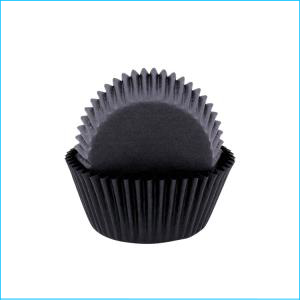 Black Large Patty Pan Pk 50