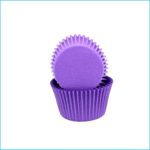 Purple Large Patty Pan Pk 50