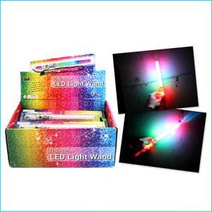 Rainbow LED Wand 21cm